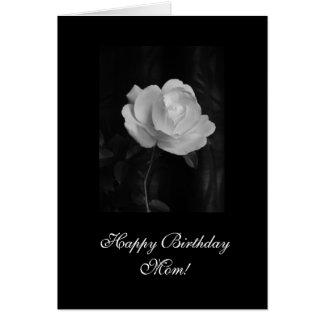 Rose: Alles- Gute zum Geburtstagmamma! Grußkarte