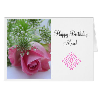 Rose: Alles- Gute zum Geburtstagmamma! schöner Tag Grußkarten