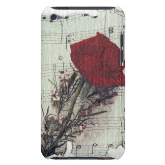 <Rose and Music> durch Kim Koza 2 Barely There iPod Cover