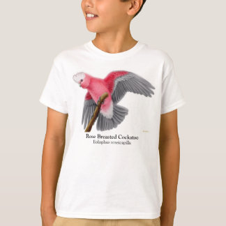Rose Breasted Cockatoo scherzt T - Shirt