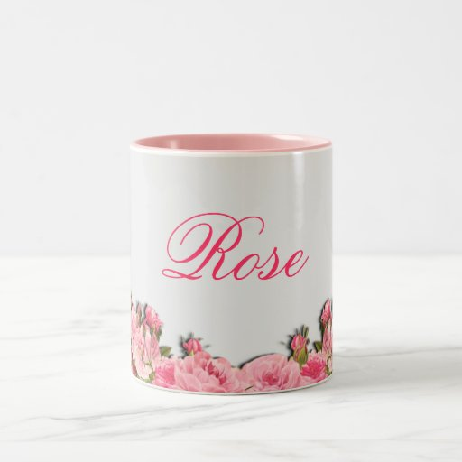 Rose Coffe Tasse