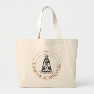 Rose Croix schottisches Ritus-Symbol Einkaufstaschen
