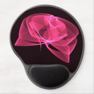 rose digital gel mouse pads