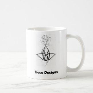 Rose entwirft Tasse