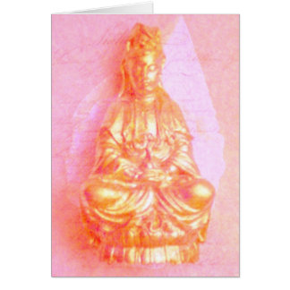 Rose-GoldKwan Yin Karte