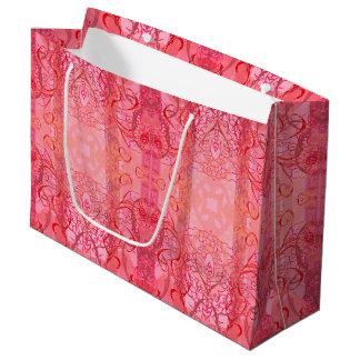 Rose Große Geschenktüte