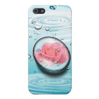 ROSE IN EINEM FALL DES STRUDEL-IPHONE iPhone 5 ETUI