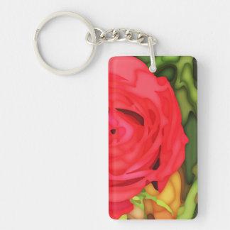 Rose Keychain Schlüsselanhänger
