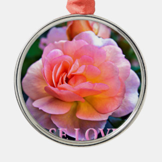 ROSE LOVERS SILBERNES ORNAMENT