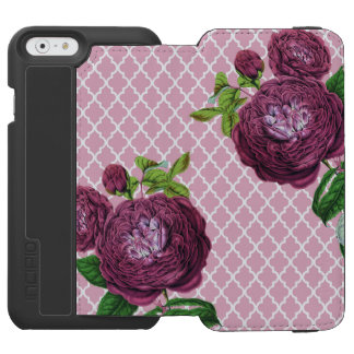 Rose morrocco incipio watson™ iPhone 6 geldbörsen hülle