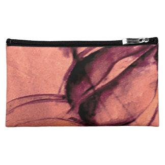 Rose/Pfirsich - mittlere kosmetische Tasche