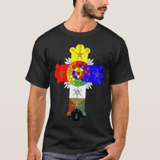 Rose QuerLamen T-Shirt