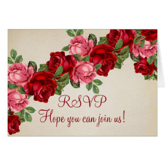 Rose romantische elegante UAWG-Karte Karte
