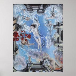 rose rosen roses druck print poster angel engel