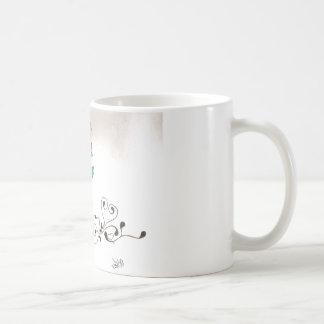 Rose Kaffee Tasse