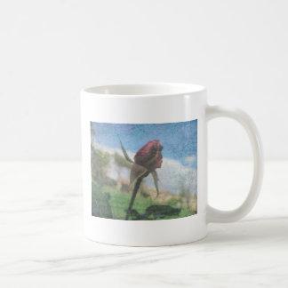 Rose Kaffeetasse