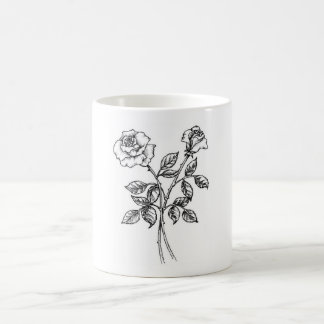 Rose Kaffee Tassen