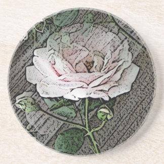 Rose Untersetzer