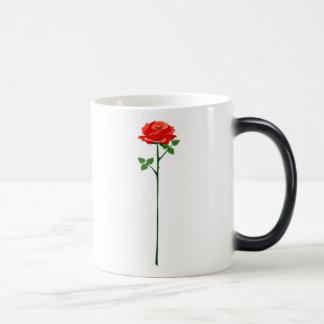 Rose Verwandlungstasse