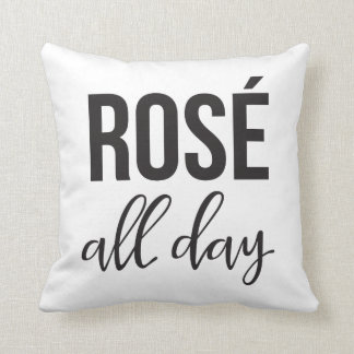 Roseden ganzen tag Throw-Kissen Kissen