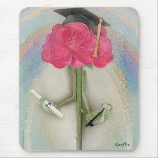 Rosegifts Abschluss-Rose mousepad