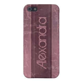 Rosegrunge-Marmor beunruhigt iPhone 5 Hülle