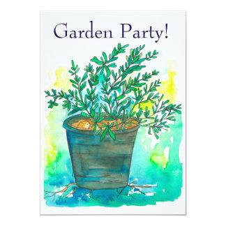 Rosemary-Garten-Party Einladung