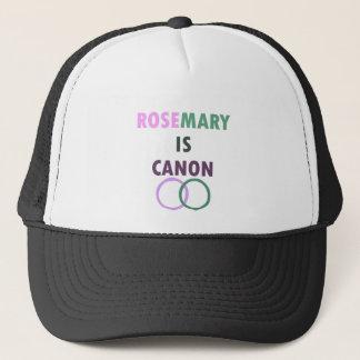 Rosemary ist Canon (v1) Truckerkappe