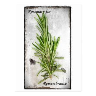 Rosemary Postkarte
