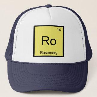 Rosemarynamenschemie-Element-Periodensystem Truckerkappe