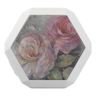 Rosen auf Grau Weiße Bluetooth Lautsprecher