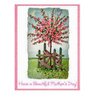 Rosen-Baum der Mutter Tages Postkarten