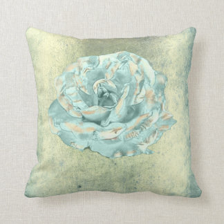 Rosen-Blume Tiffany tadellose elegante Grungy Kissen