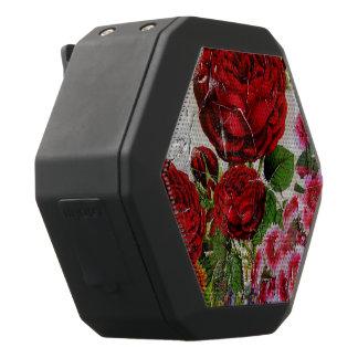 Rosen-Blumen-Garten Schwarze Bluetooth Lautsprecher