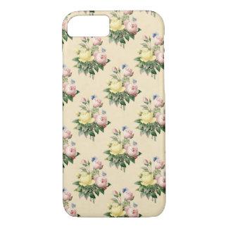 Rosen-Blumen-Telefonkasten des Blumenmusters iPhone 7 Hülle