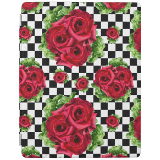 Rosen-Blumenstrauß-BlumenLiebe Rockabilly iPad Smart Cover
