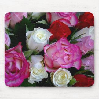 Rosen-Blumenstrauß Mousepad