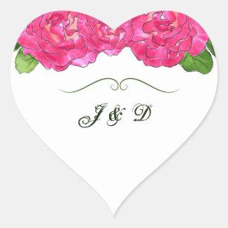 Rosen-Blüten-Umschlag Aufkleber