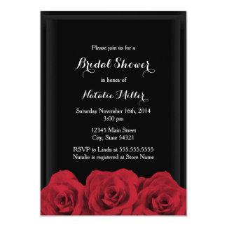 Rosen-Brautparty laden ein Karte