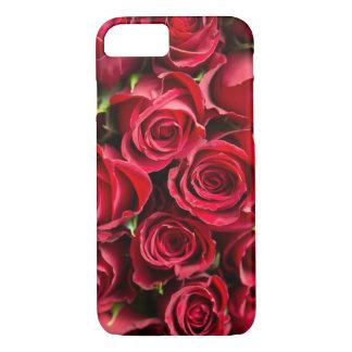 Rosen-Collagen-Nahaufnahme-Zellen-Telefon-Kasten iPhone 8/7 Hülle