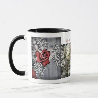 Rosen-Collagen-Tasse Tasse