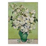 Rosen durch Van Gogh Grußkarte