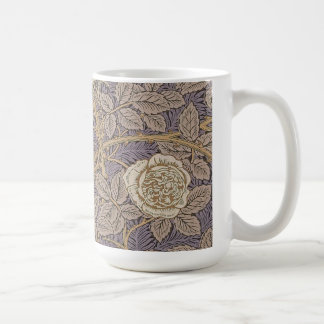 Rosen durch William Morris Kaffeetasse