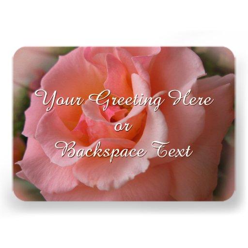 Rosen-Einladungs-personalisierte wilde Rose UAWG Individuelle Ankündigung