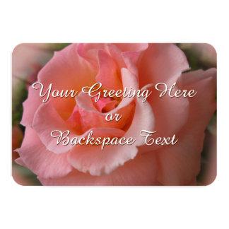 Rosen-Einladungs-personalisierte wilde Rose UAWG 8,9 X 12,7 Cm Einladungskarte