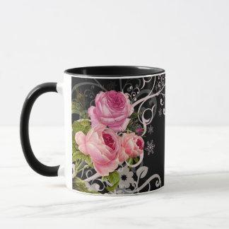 Rosen-Eleganz Tasse