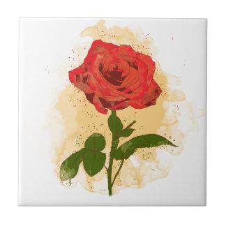 Rosen-Entwurf Keramikfliese