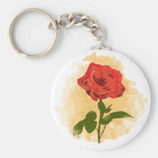 Rosen-Entwurf Schlüsselanhänger