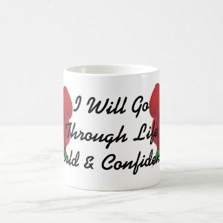 Rosen-Entwurfs-mutige u. überzeugte Schale Kaffeetasse