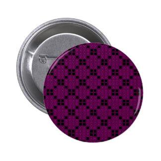 Rosen-Farbfliesen Runder Button 5,1 Cm